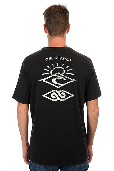 Футболка Rip Curl Back To The Search Black