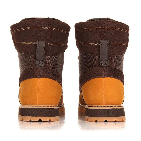 Ботинки высокие DC Uncas Wheat/Dark Chocolate