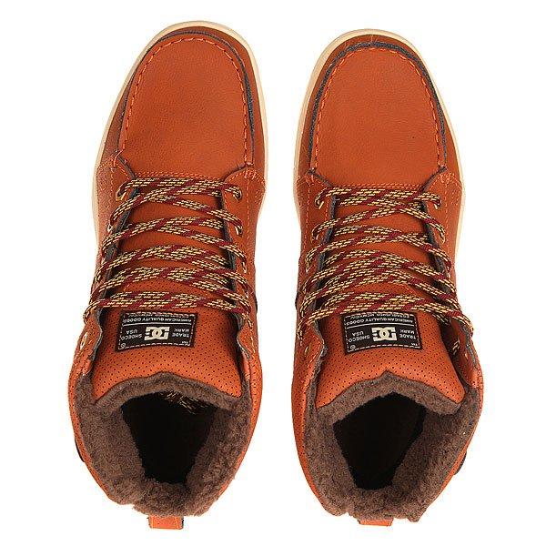 Ботинки высокие DC Woodland Burnt Henna/White
