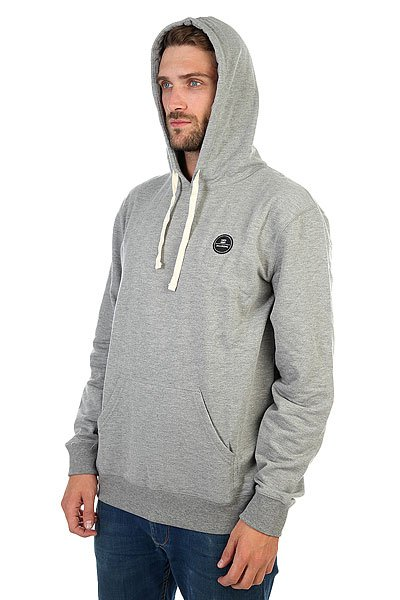 Толстовка кенгуру Billabong All Day Hood Grey Heather