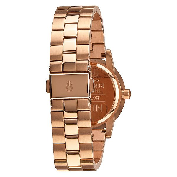 Кварцевые часы Nixon Small Kensington Rose Gold White
