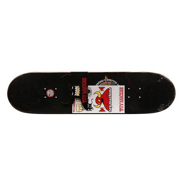 Дека для скейтборда Toy Machine Dead American Monster Blue/Red/Beige 31.5 x 8.125 (20.6 см)