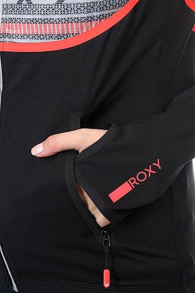 Толстовка сноубордическая женская Roxy Priscah True Black