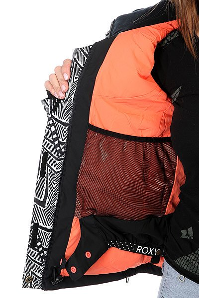 Куртка женская Roxy Flicker Mauritius Daze Egret