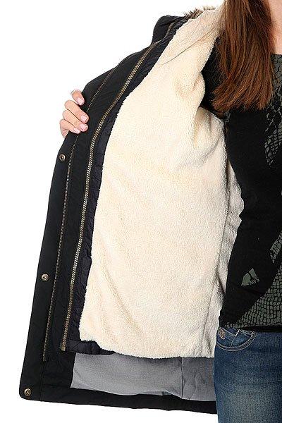 Куртка парка женская Roxy Amy 3n1 True Black
