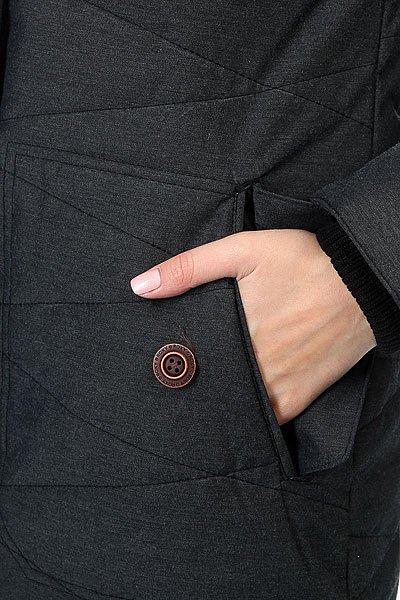 Куртка парка женская Roxy Tara True Black
