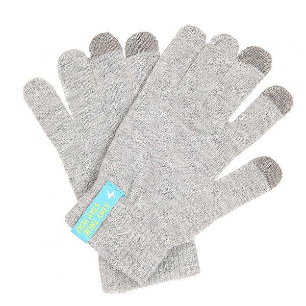 Перчатки TrueSpin Touch Gloves Light Heather Grey
