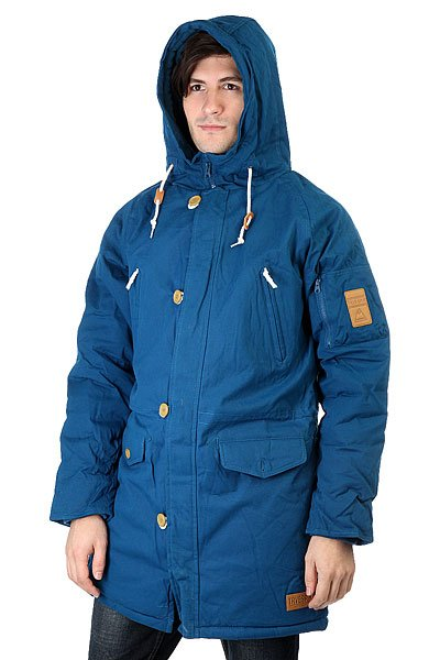 Куртка парка TrueSpin Cold City Indigo