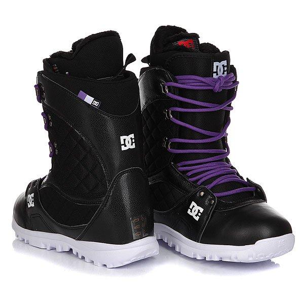 Ботинки для сноуборда женские DC Karma Deep Black
