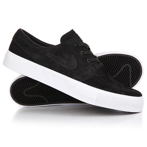 Кеды низкие Nike Zoom Stefan Janosti Prem Ht Black/Black/White