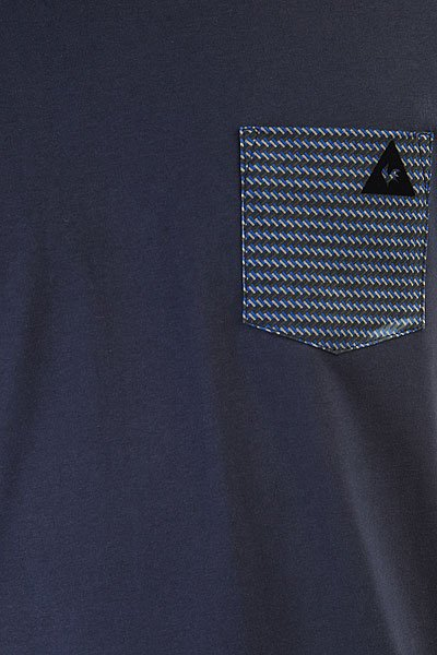 Футболка Le Coq Sportif Geo Jacquard Pocket Dress Blues