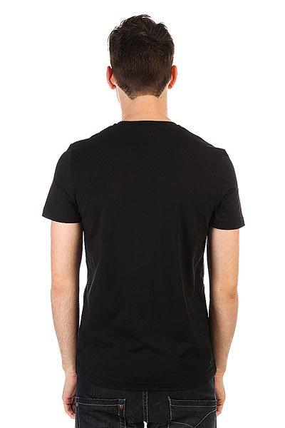 Футболка Le Coq Sportif Geo Jacquard Pocket Black