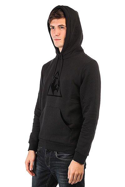 Толстовка кенгуру Le Coq Sportif Affutage Po Hood Brushed Black