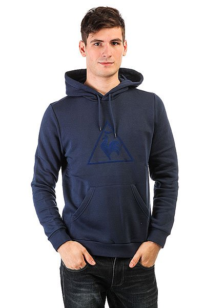 Толстовка кенгуру Le Coq Sportif Affutage Po Hood Brushed Dress Blues