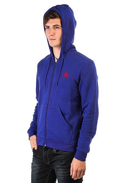Толстовка классическая Le Coq Sportif Ailier Fz Hood Brushed Ultra Blue