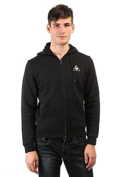 Толстовка классическая Le Coq Sportif Ailier Fz Hood Brushed Black