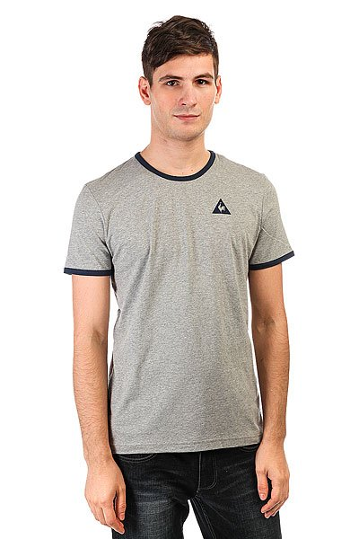 Футболка Le Coq Sportif Fruiba Light Heather Grey/Dress