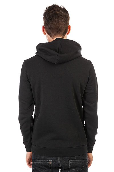 Толстовка кенгуру Le Coq Sportif Geo Jacquard Po Hood Black