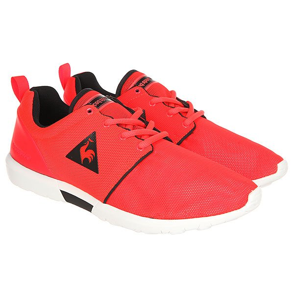 Кроссовки Le Coq Sportif Dynacomf Classic Fluoro Red/Black