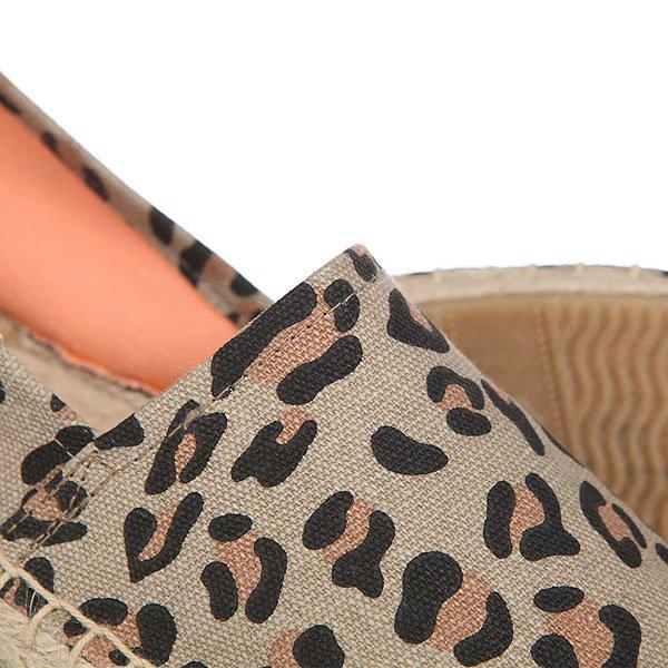 Эспадрильи женские Soludos Original Stripe Print Leopard Print