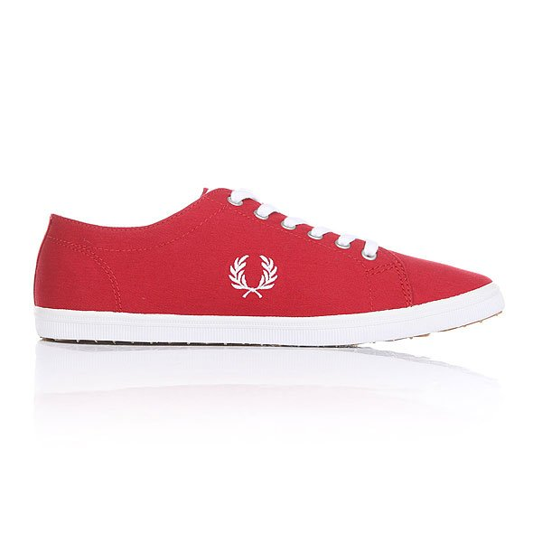 Кеды низкие Fred Perry Kingston Twill Blood