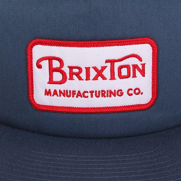 Бейсболка с сеткой Brixton Grade Mesh Cap Washed Navy