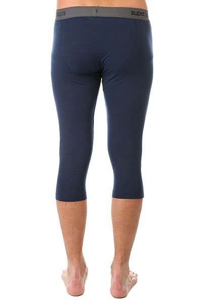Термобелье (низ) Super Natural Base 3/4 Tight 175 Real Ocean Deep