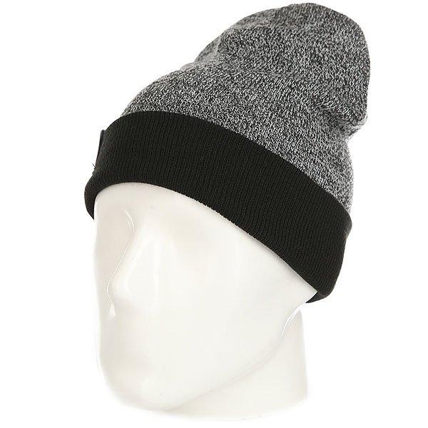 Шапка носок Les Snowbeast Чёрный Серый Мелланж