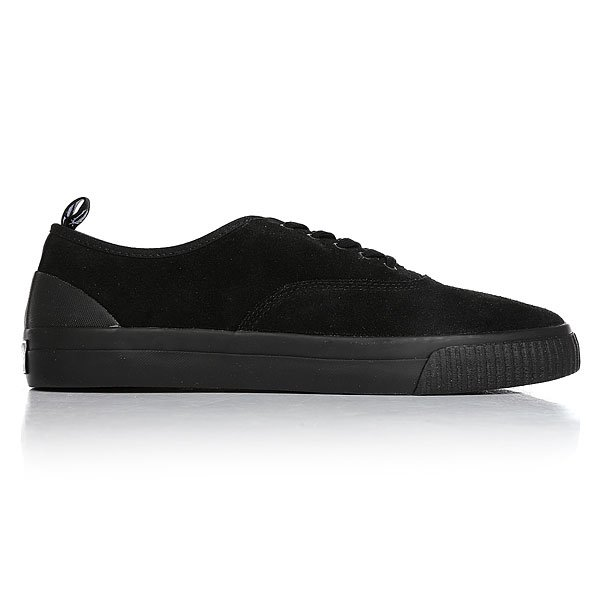 Кеды низкие Fred Perry Barson Suede Black