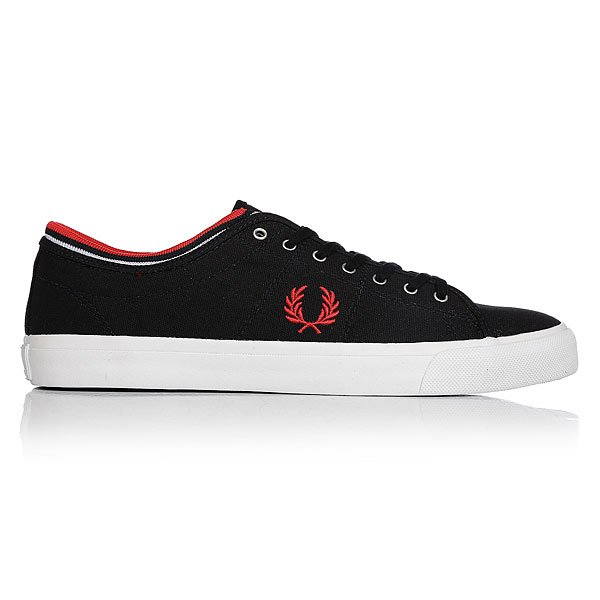 Кеды низкие Fred Perry Kendrick Tipped Cuff Canvas Real Navy