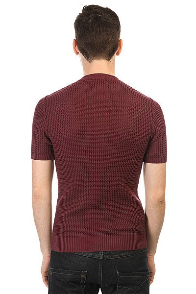 Поло Fred Perry Knitted Button Neck