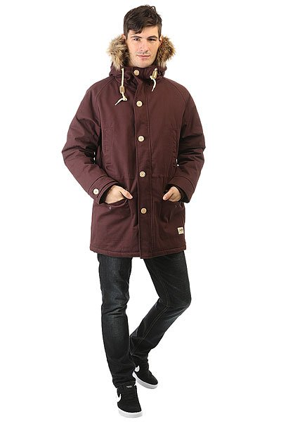 Куртка парка Запорожец Ditch Parka Dark Brown