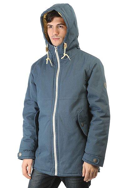 Куртка парка Запорожец Retro Zipper Navy