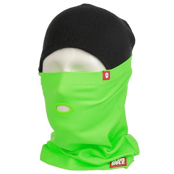 Маска Airhole Airtube Super Stretch Fluro Green