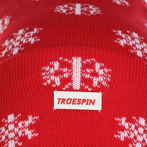 Шапка TrueSpin Ts Flakes Red