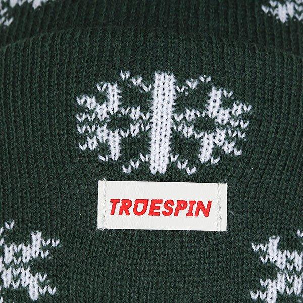 Шапка TrueSpin Ts Flakes Dark Green