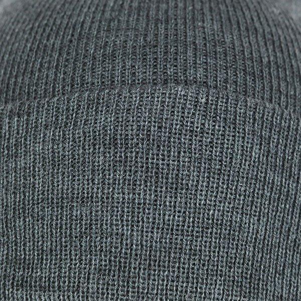 Шапка носок TrueSpin Plain Cuffed Heather Grey