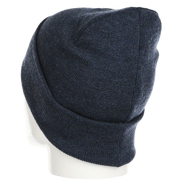Шапка TrueSpin Plain Cuffed Heather Navy