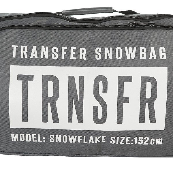 Чехол для сноуборда Transfer Snowflake 152 См Grey