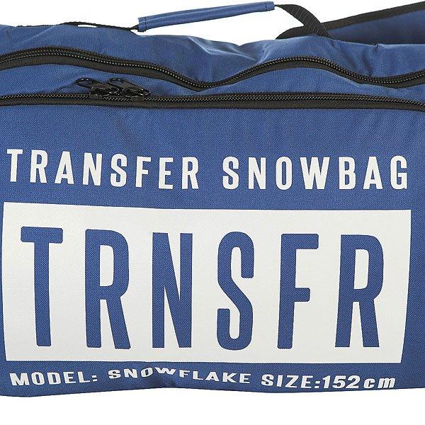 Чехол для сноуборда Transfer Snowflake 152 См Blue