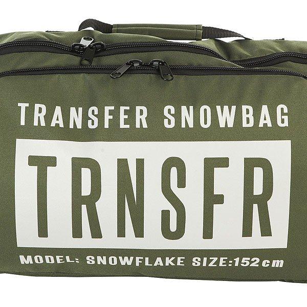 Чехол для сноуборда Transfer Snowflake 152 См Khaki
