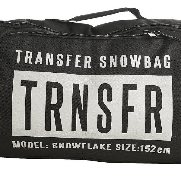 Чехол для сноуборда Transfer Snowflake 152 См Black