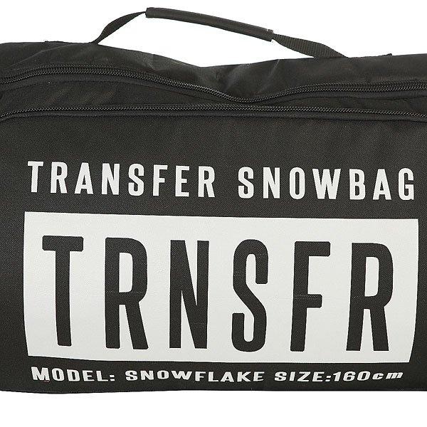 Чехол для сноуборда Transfer Snowflake 160 Cм Black