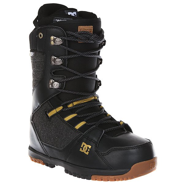 Ботинки для сноуборда DC Mutiny Black/Gold