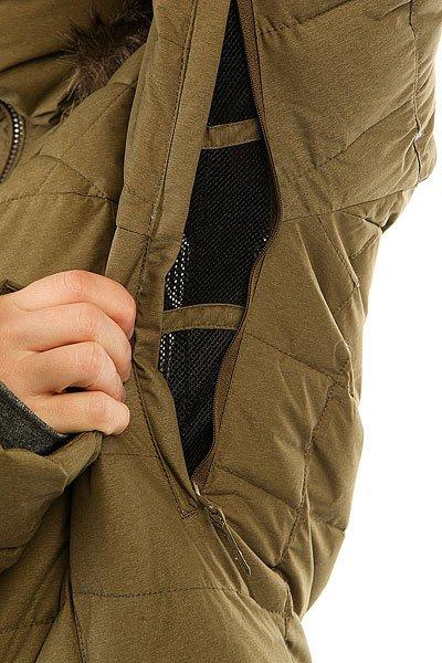 Куртка женская Roxy Quinn Military Olive
