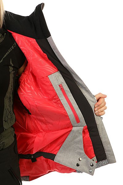 Куртка женская Roxy Sassy Windy Road True Blac