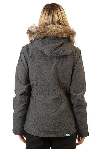 Куртка женская Roxy Jet Ski Text True Black