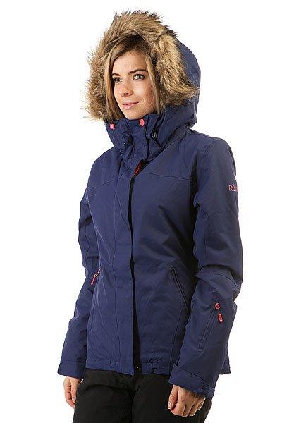 Куртка женская Roxy Jet Ski Sol Blue Print