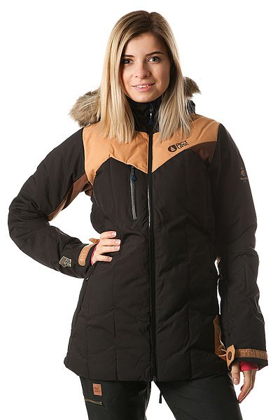 Куртка женская Picture Organic Fly Exp Black Brown