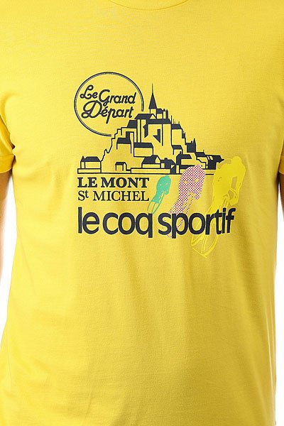 Футболка Le Coq Sportif Tdf Fan N°1 Original Jaune